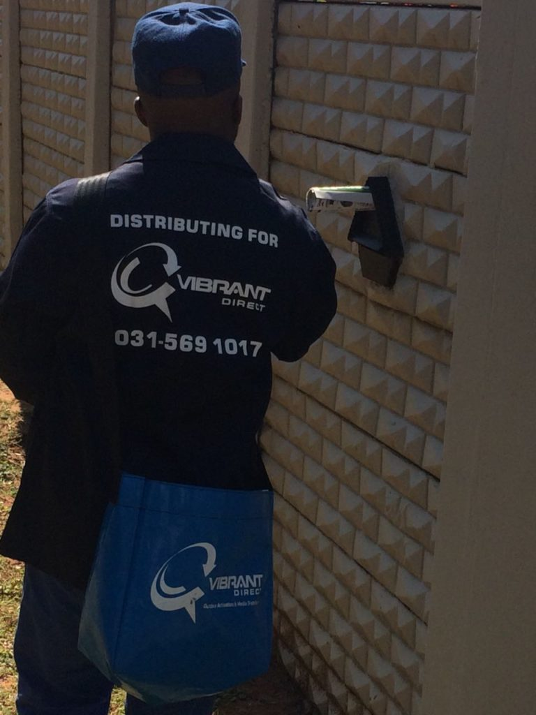 Door-To-Door Pamphlet Distribution